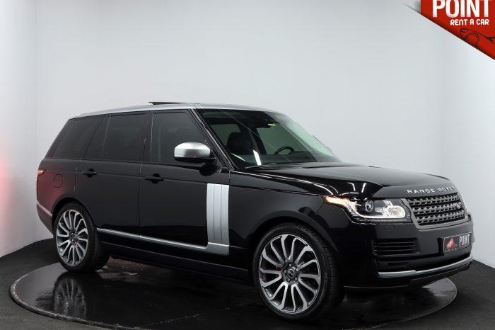 Range Rover Vogue – Siyah